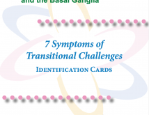 Basal Ganglia  Symptoms of Transitional Challenges Identification Cards
