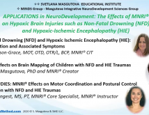Applications In NeuroDevelopment The Effect of MNRI on Individuals with Brain Damage caused by NonFatal Drowning NFD or Hypoxicischemic Encephalopathy HIE  Part 2