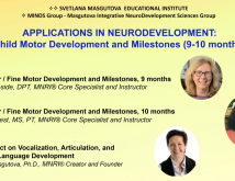 Applications in Neurodevelopment Child Motor Development and Milestones 910 months